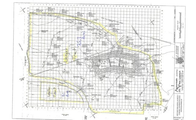 South Plainfield Survey Map – approx acreage